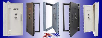 Vault Doors for Walk In Safe Room Shelters