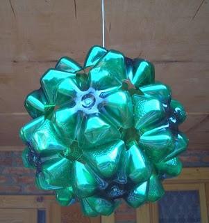 Botellas-recicladas-navidad-adornos
