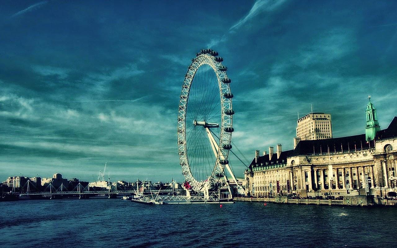 London Facts: London Eye HD desktop Full Wallpaper