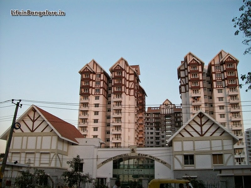 Prestige Nottinghill apartments Bannerghatta road