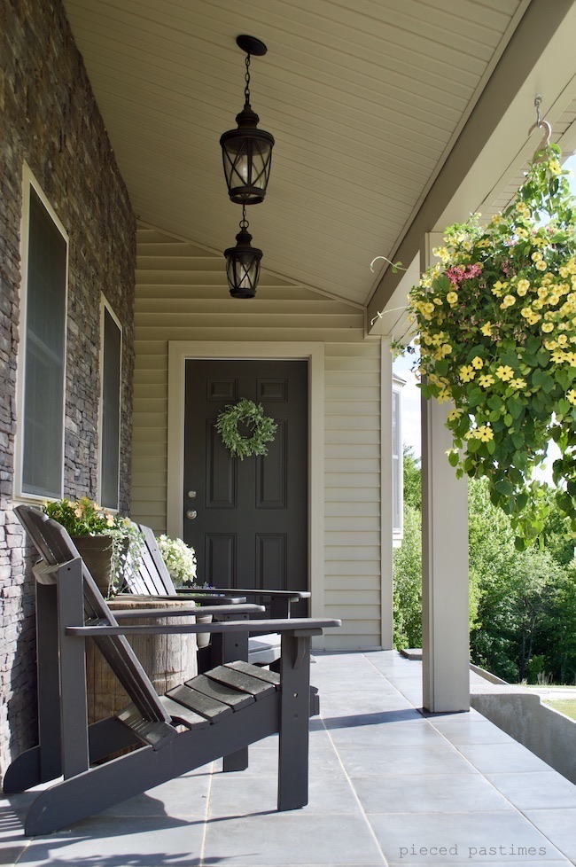 Summer Porch Sanctuary at Pieced Pastimes