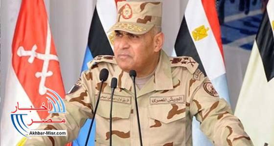 صدقي صبحي وزير الدفاع