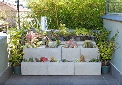 Como fazer jardim em espaços pequenos