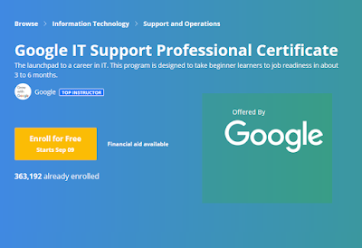 Google IT Support Professional Certificate on Coursera Review! - Is it worth it?