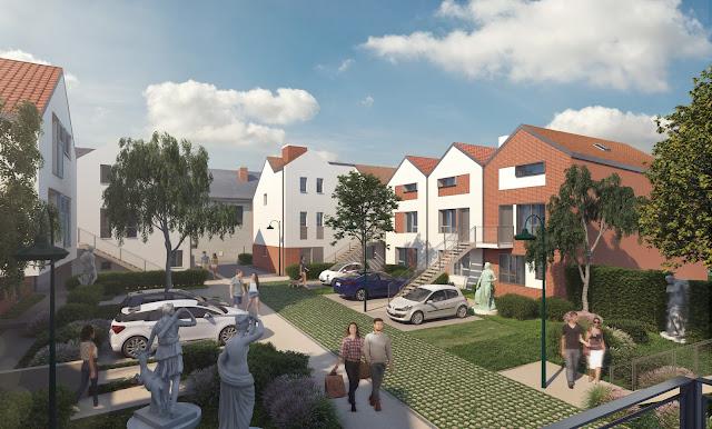 Perspectives 3D de promotion des logements