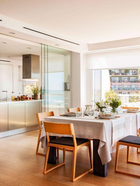 Separar salón de cocina