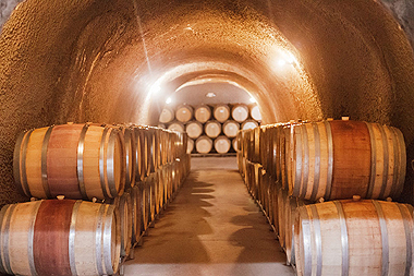 Travel Review - Paso Robles Wine Country - Eberle Winery (this photo of the caves) / www.delightfulrepast.com