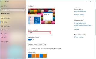 Bagaimana Mengubah Mode Warna Pada Pembaruan Windows 10