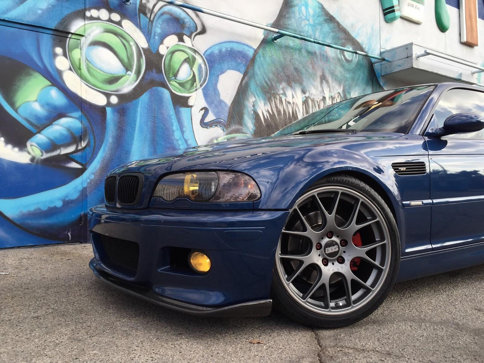 European Vision Autoworks: Topaz Blue BMW E46 M3