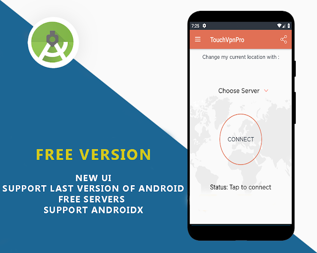 TouchVpn Pro New Servers  +  3 Versions - 3