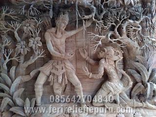 relief rama shinta