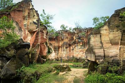 Wisata Bukit Kapur Arosbaya
