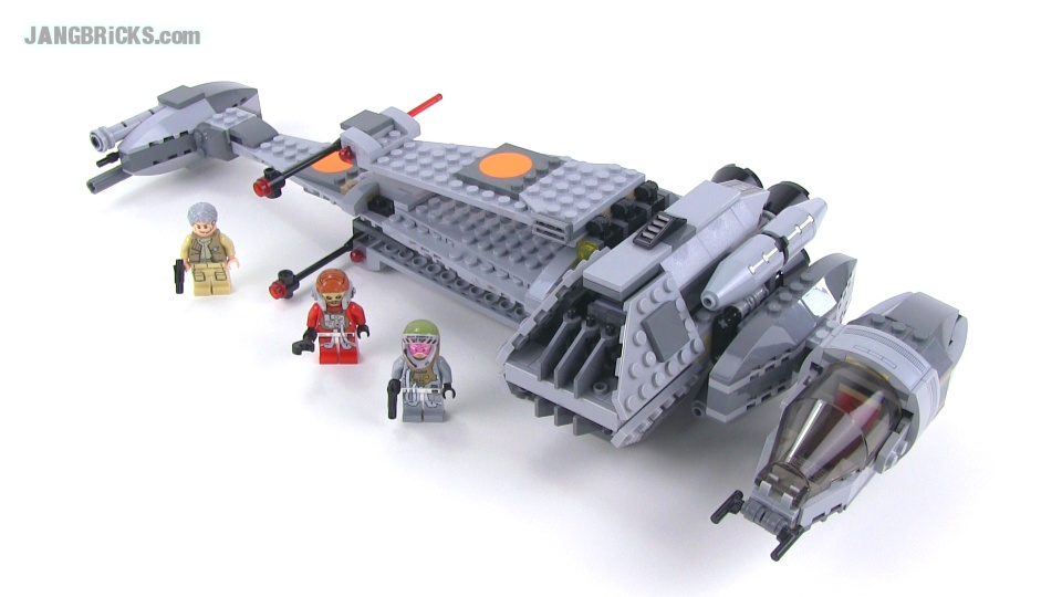 LEGO Star Wars 75050 B Wing 2014 edition reviewed