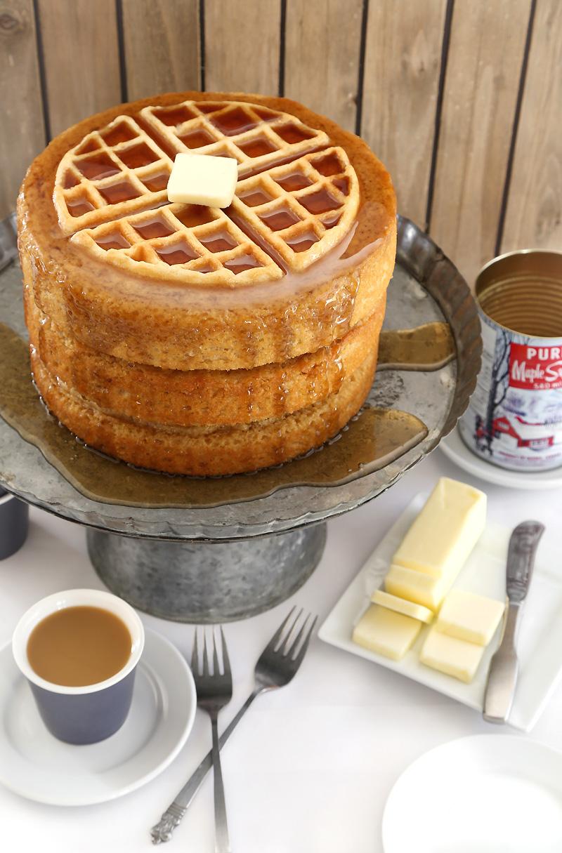 Layer Pancake Cake