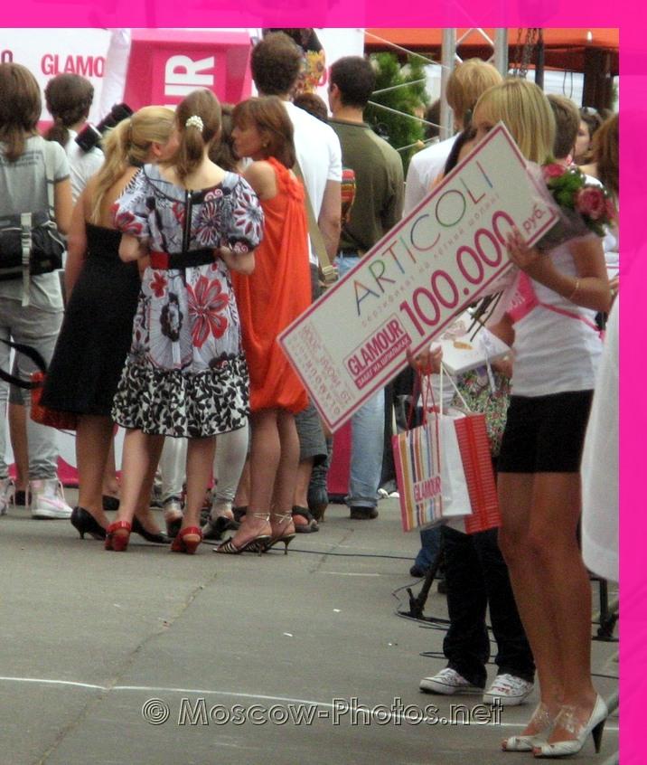 The Winner Of Glamour Stiletto Run 2008