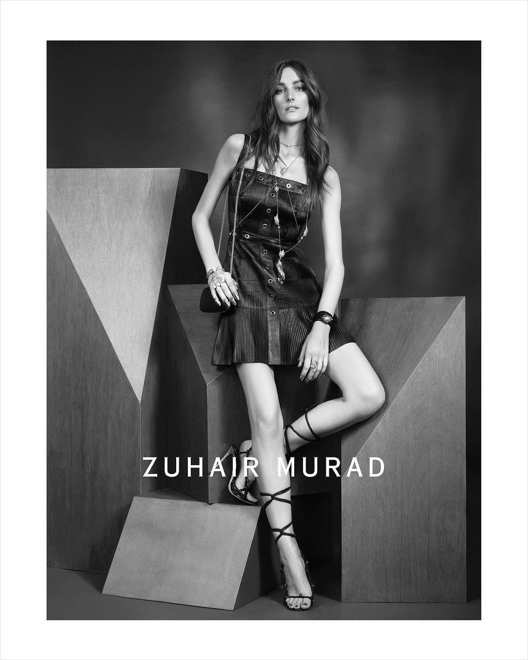 Zuhair Murad | Spring 2018 Campaign ft. Josephine Le Tutour