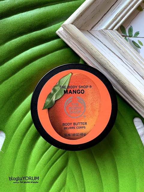 the body shop tbs mango body butter incelemesi