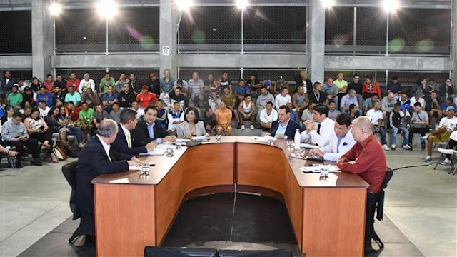 Costa Rica presidential candidates hold debate in prison