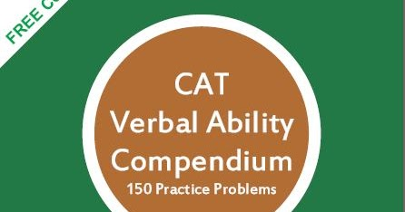 Verbal Ability For Cat By Arun Sharma Pdf