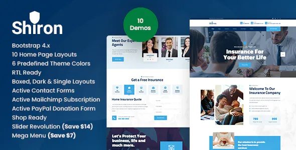 Best Insurance Finance HTML Template