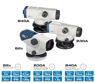 Waterpass Sokkia B20 Automatic Level Magnification 32x