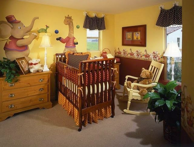 decorar dormitorio de bebé