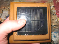 Seating the solar cell