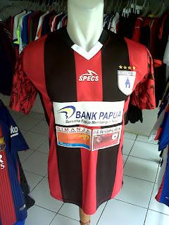 Jual Jersey Persipura Jayapura Home TSC 2016 di toko jersey jogja sumacomp, murah berkualitas