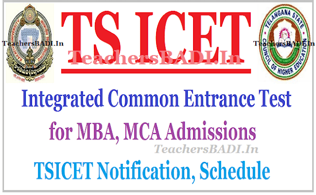 TS ICET 2017, TSICET Schedule,Telangana ICET 2017