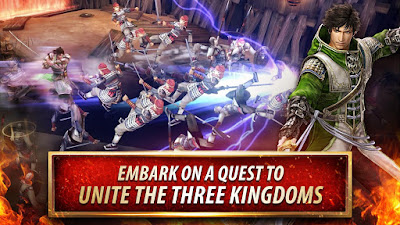 Dynasty Warriors: Unleashed v1.0.0.7 Mod Apk Terbaru Android