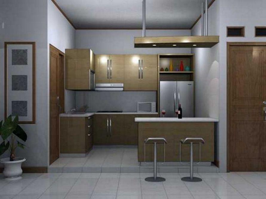 Penataan Desain Dapur Di Ruang Tengah Inspiratif
