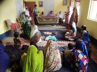 अंर्तगतराष्ट्रीय महिला दिवस पर धनौरा जागीर में हुई आमसभा