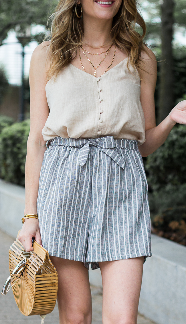 Bp button front camisole #camisole #summeroutfit