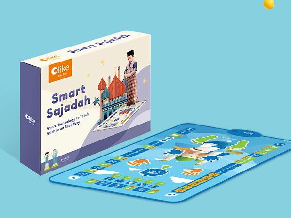 Olike Smart Sajadah, Teknologi Cerdas untuk Membimbing Anak Sholat 5 Waktu