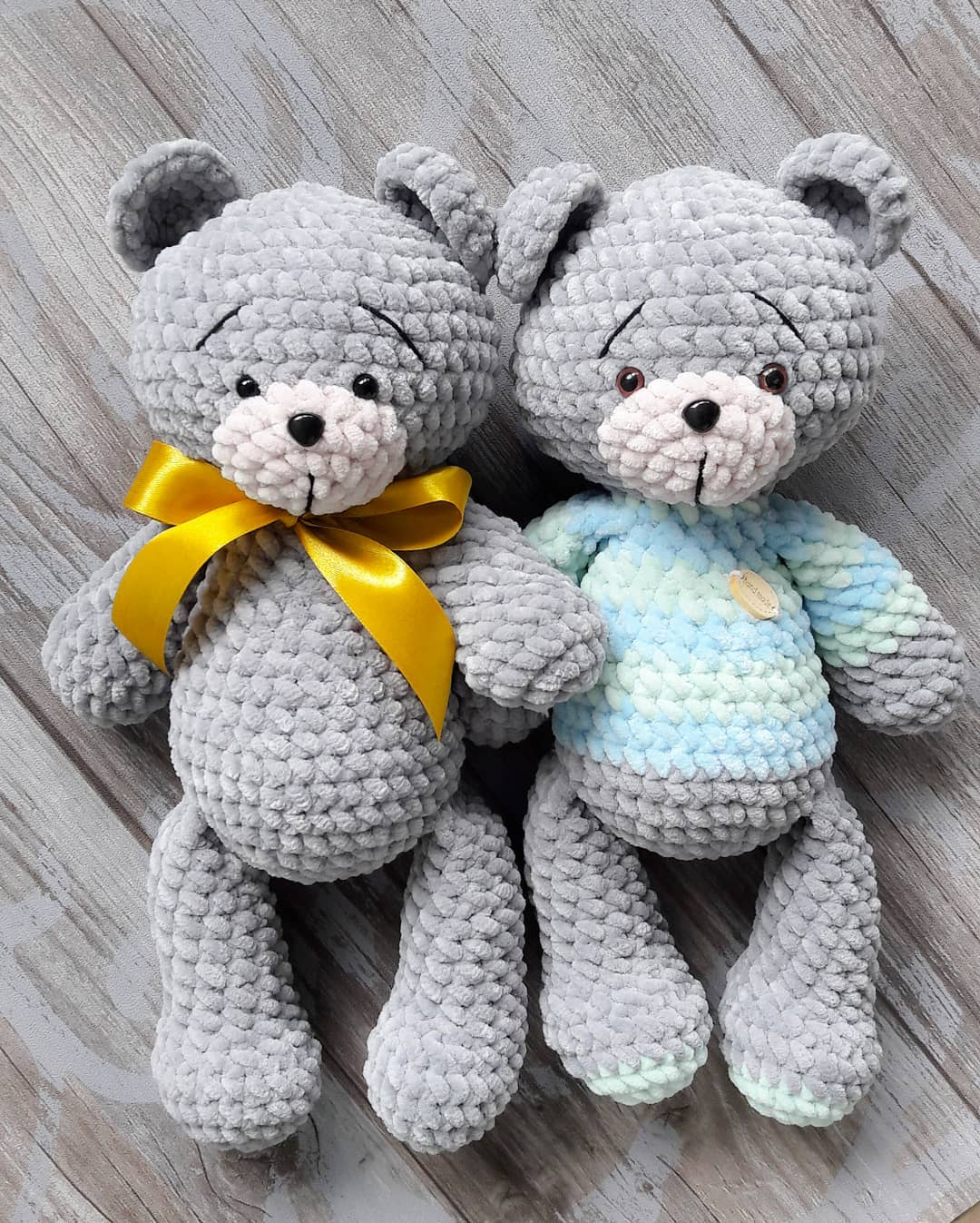 Knitted Teddy Bear Patterns Easy Video Instructions - Dela Diy and ... | 1347x1080