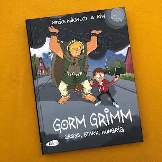 Comic für Kinder: Gorm Grimm - Groß, stark, hungrig