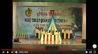 Những tiết mục văn nghệ của Đoàn Sở Y tế tham gia Hội diễn văn nghệ quần chúng tỉnh Kon Tum
