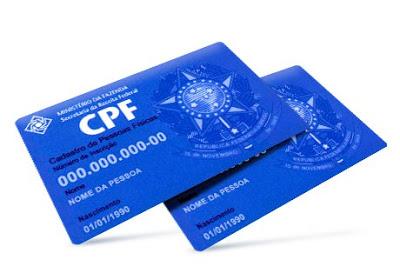 Receita Federal oferece regularização do CPF via internet