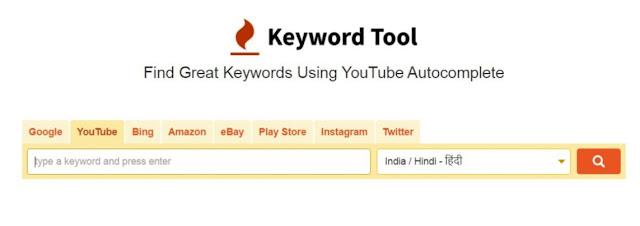KEYWORD research in hindi