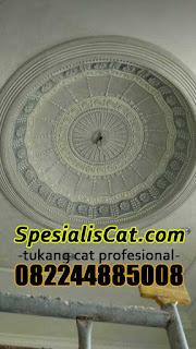 Jasa Tukang Cat Whos Plafon Motif Awan Awan Marbling