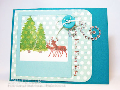Warm Winter Woodland Wishes-Designed by Lori Tecler-Inking Aloud-stamps and dies from Clear and Simple Stamps