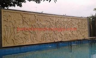 Hasil gambar untuk relief batu taman