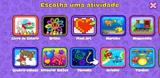 Aplicativo educativo para crianças ensino remoto