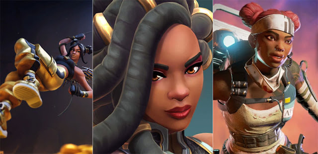 black female characters in video games 2019