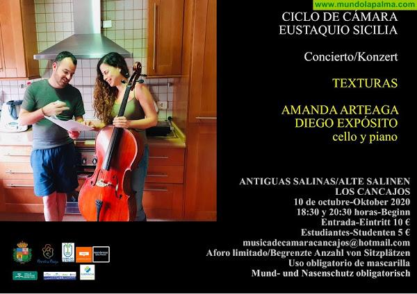 """SALINAS: """"Texturas"""", doble concierto"""
