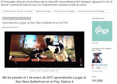 Lo + leído en el troblogdita - Blas de Lezo - Escuela Periodismo Manuel Martín Ferrand - EPMMF - Periodismo y Cine - Julio César - Sinfonía en Rojo Mayor - El Cid - Cosas de cosa nostra - el troblogdita - ÁlvaroGP