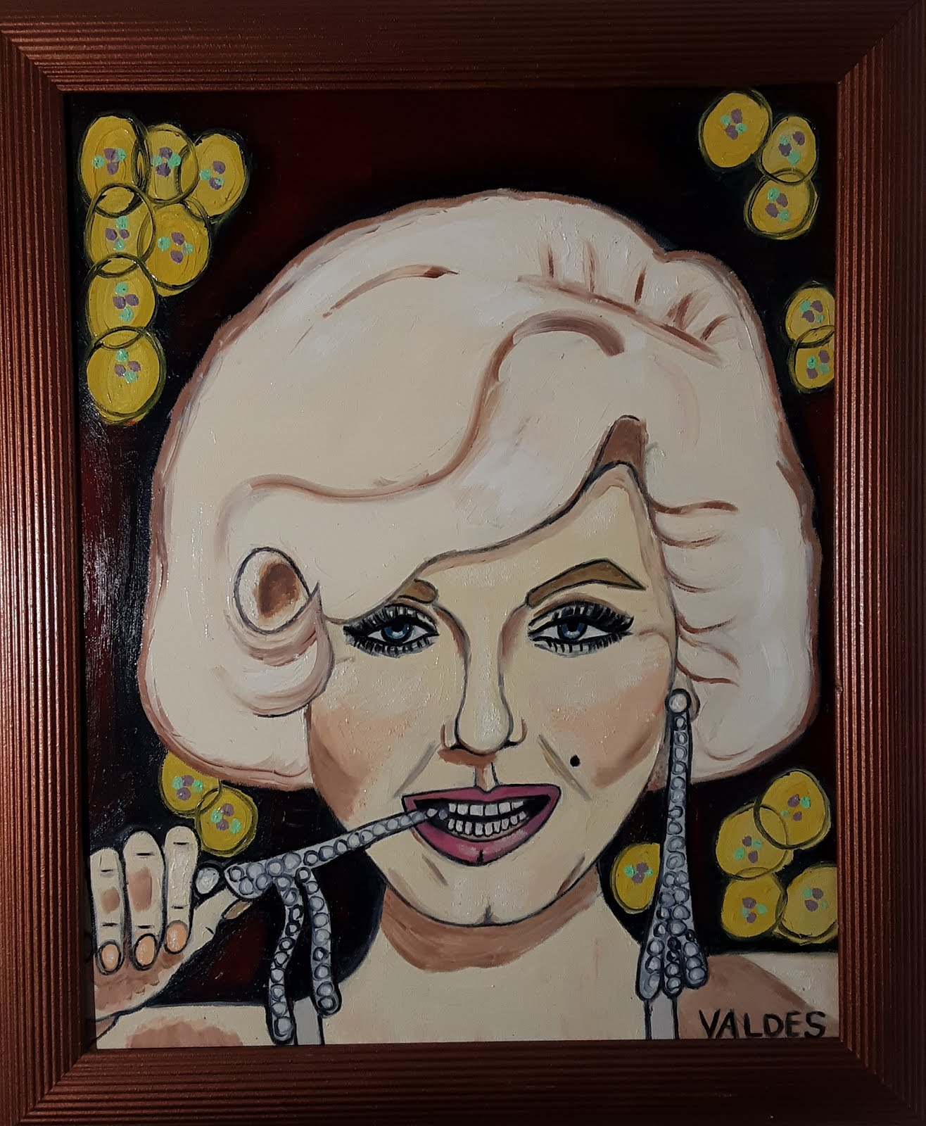 The Monroe Original oil painting 16x20