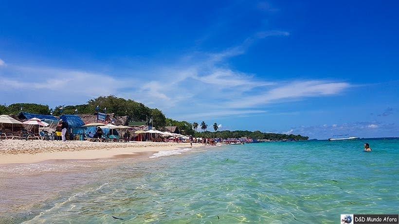 Playa Blanca - Roteiro de 4 dias em Cartagena, Colômbia