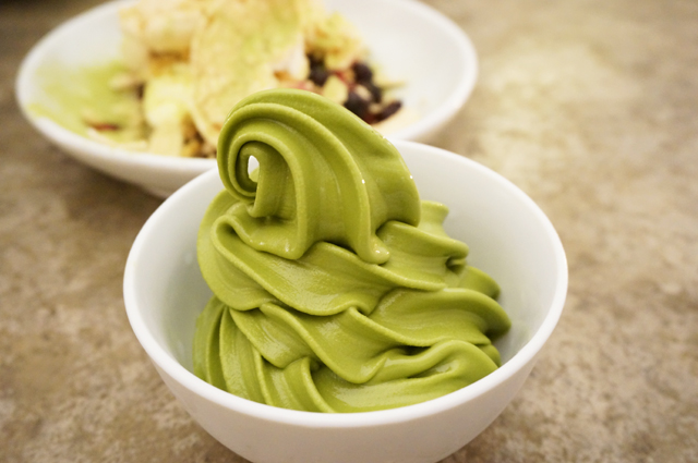 Cho Cho San - Green Tea Soft Serve