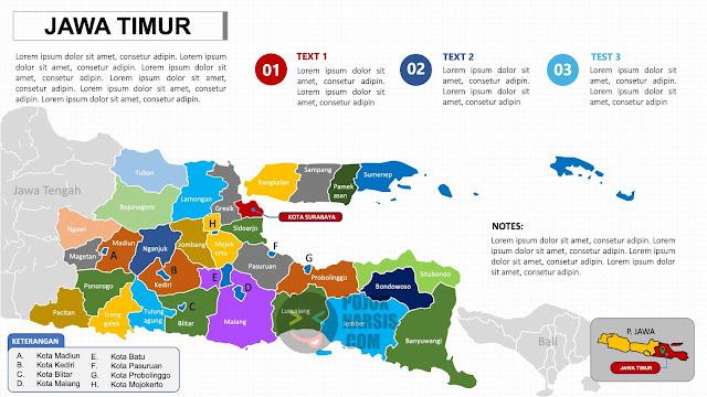Peta Jawa Timur PPTX